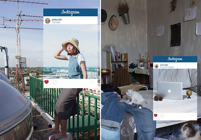 """Série sarcástica mostra as """"mentiras"""" que se escondem nas fotos das redes sociais"""