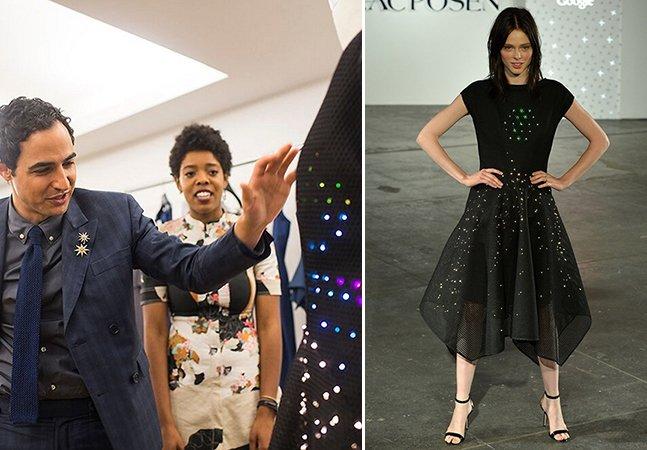 Garotas desenvolvem vestido programável com luzes de LED e fazem sucesso em evento de moda