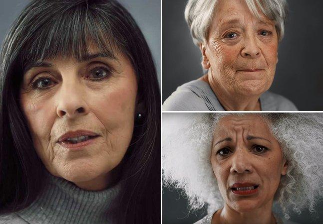 Mulheres contam em vídeo emocionante o que fariam diferente se voltassem a ser jovens