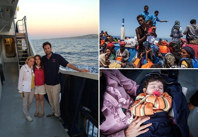 Como este multimilionário está usando seu verão (e dinheiro!) para salvar refugiados no Mediterrâneo