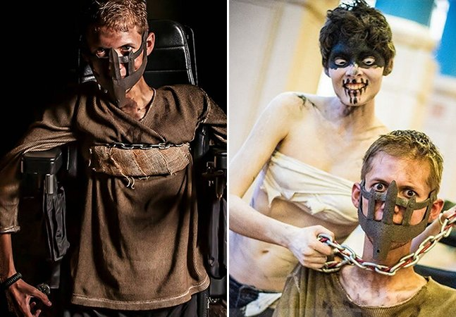 Garoto de cadeira de rodas cria cosplay fantástico de Mad Max