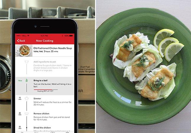 Aparelho inovador que pode ser acoplado ao fogão promete ajudar você a se dar bem na cozinha