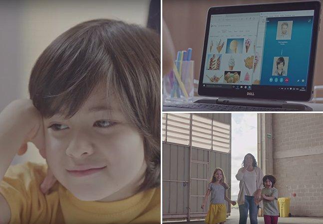 Vídeo convida crianças para realizar o sonho de infância dos seus pais