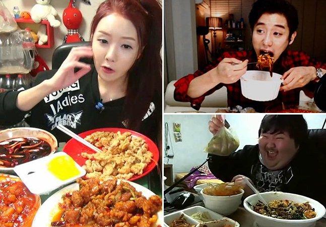 """""""Mukbang"""": a nova moda na Coreia do Sul de filmar refeições ao vivo na internet – e ganhar dinheiro com isso"""