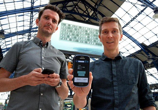 Projeto em estação de trem convida pessoas a compartilharseus maiores medos e segredos