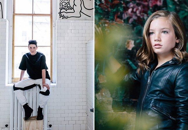 Ensaio fotográfico registra adolescentes que se assumem transexuais