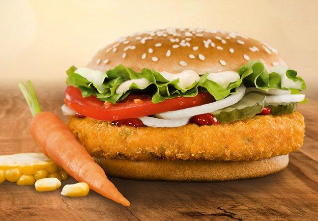 Burger King lança hambúrguer vegetariano em todo o Brasil