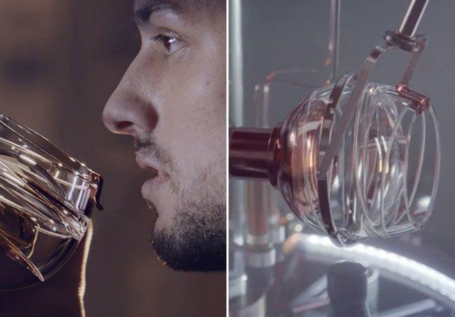 Gravidade zero: marca lança copo especial que permite beber whiskey no espaço