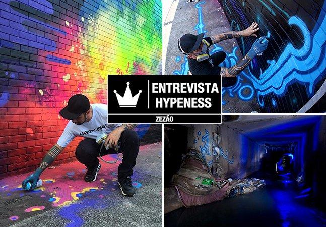 Entrevista Hypeness: fomos conversar sobre arte urbana com o mestre do graffiti Zezão