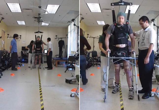 Como cientistas conseguiram fazer com que um paraplégico voltasse a andar sem usar dispositivos mecânicos