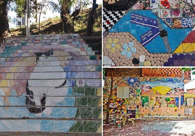 Projeto utiliza azulejos coloridos para revitalizar bairros periféricos de SP