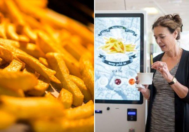 Startup cria vending machine inovadora capaz de fritar batatas em apenas 2 minutos