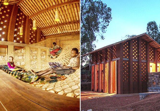 Projeto cria biblioteca para surdos em pequena comunidade africana