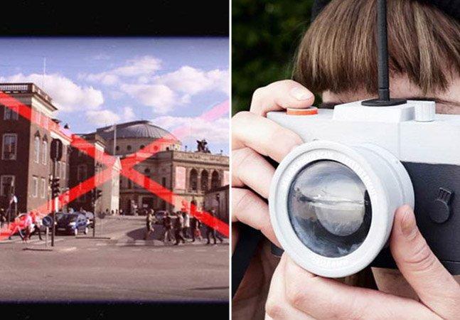 Conheça a câmera que proíbe você de tirar fotos sem originalidade