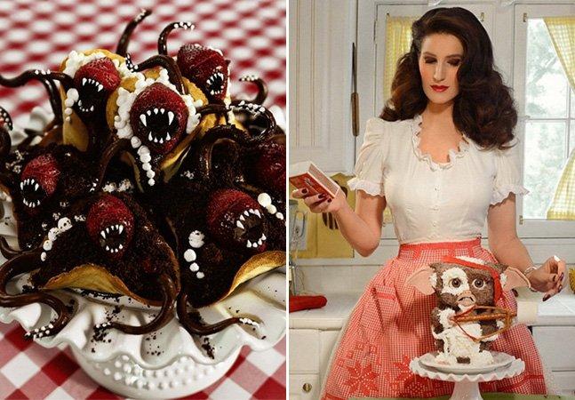 Artista se inspira em filmes de  terror para transformar bolos em verdadeiras obras de arte