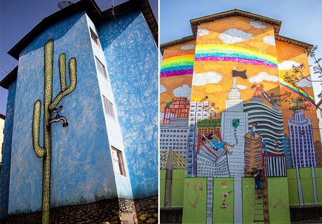 Cingapura ganha cara nova com murais de artistas paulistanos
