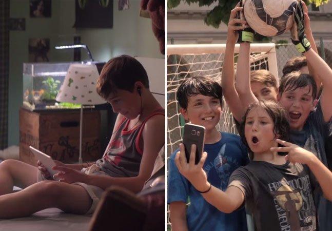 Comercial emocionante lembra que só a tecnologia não chega para uma vida feliz