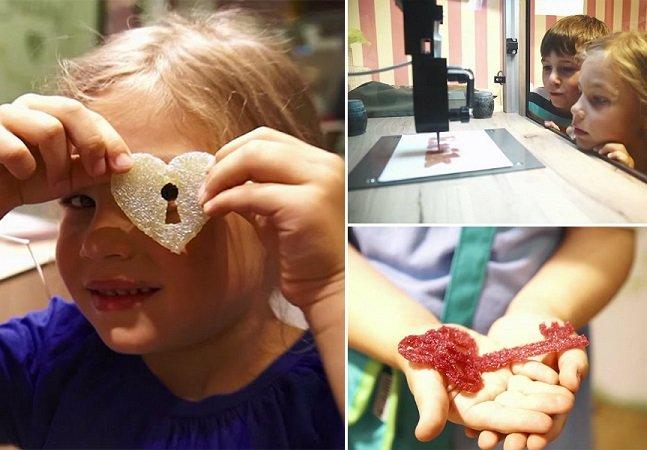Conheça a primeira impressora 3D de balas de goma