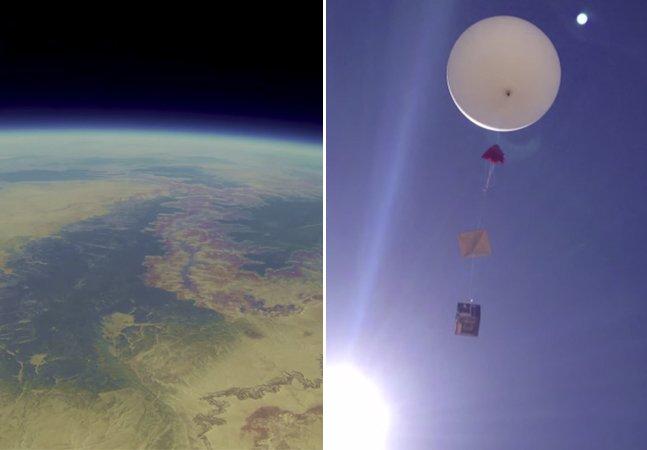 GoPro perdida no espaço é encontrada na Terra e revela imagens impressionantes