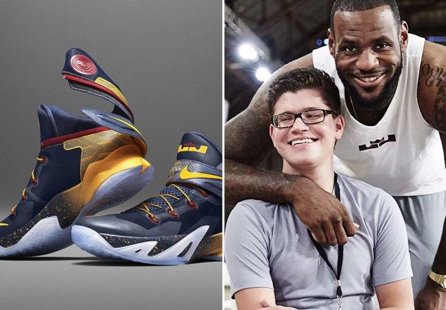 A pedido de garoto com paralisia, Nike cria tênis especial para ajudar pessoas com mobilidade reduzida