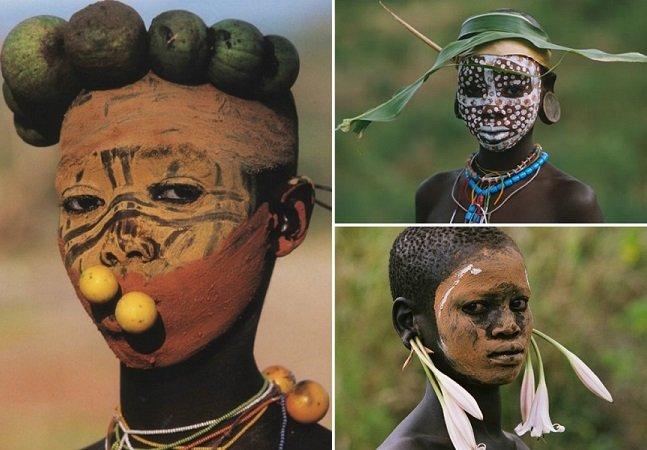 Conheça as tribos africanas que transformam itens da natureza em acessórios incríveis