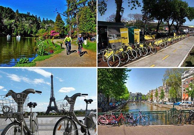 10 destinos perfeitos para quem não dispensa um passeio de bike na cidade