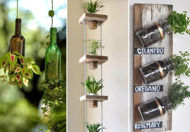 7 ideias práticas para criar uma mini-horta em casa