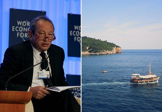 Bilionário egípcio quer comprar uma ilha para abrigar refugiados