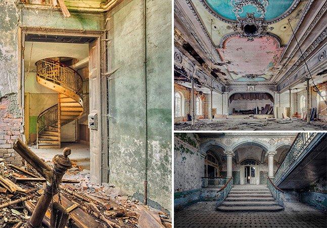 Fotógrafo percorre a Europa em busca de lugares abandonados