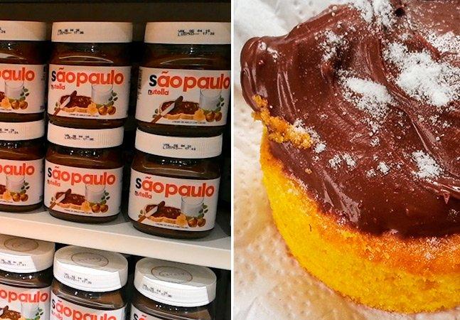 Novo quiosque da Nutella em SP dará croissants recheados gratuitos aos clientes
