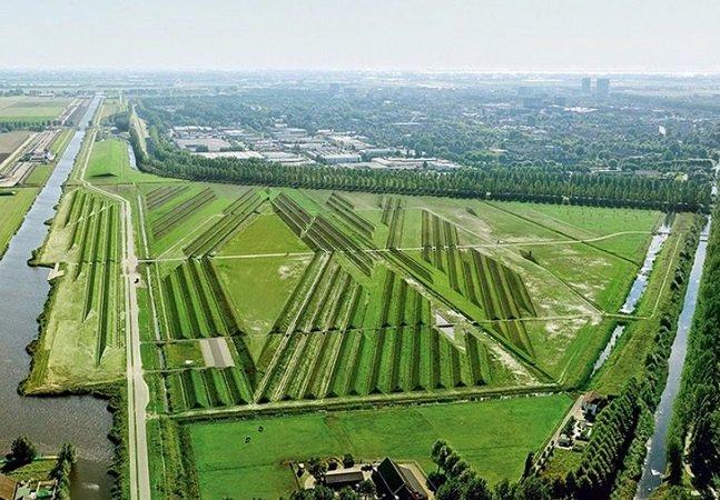 Holanda cria jardim perto de aeroporto que reduz pela metade os barulhos dos aviões