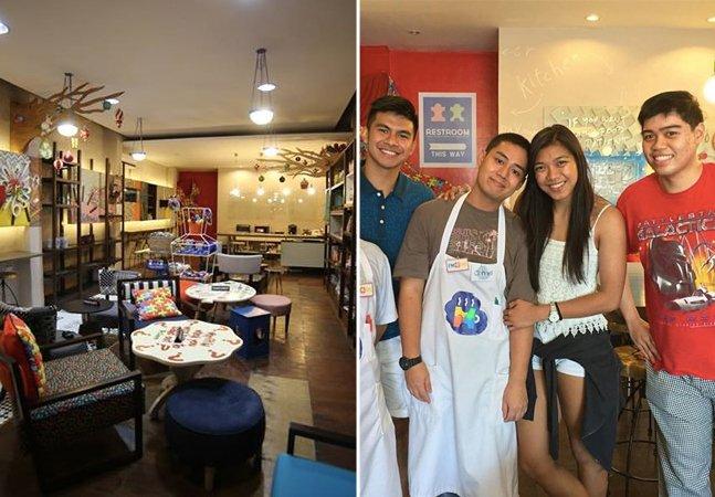 Café gerenciado por jovem autista dá emprego e esperança a pessoas com deficiência