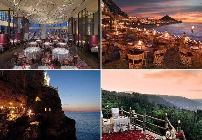 7 restaurantes pelo mundo em que a comida e a vista vão disputar a sua atenção