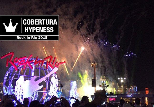 Fomos conferir o primeiro fim de semana de Rock In Rio 2015