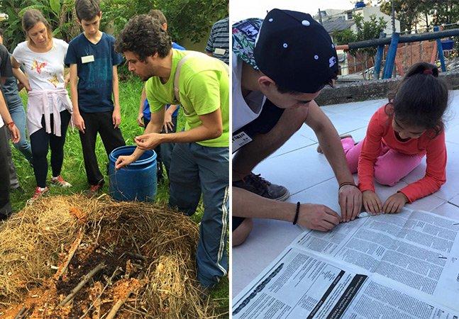 Alunos de colégio brasileiro trocam viagem de formatura por volunturismo