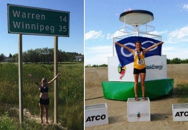 Jovem de 16 anos corre 114 km para combater um problema que afeta milhares de mulheres no seu país