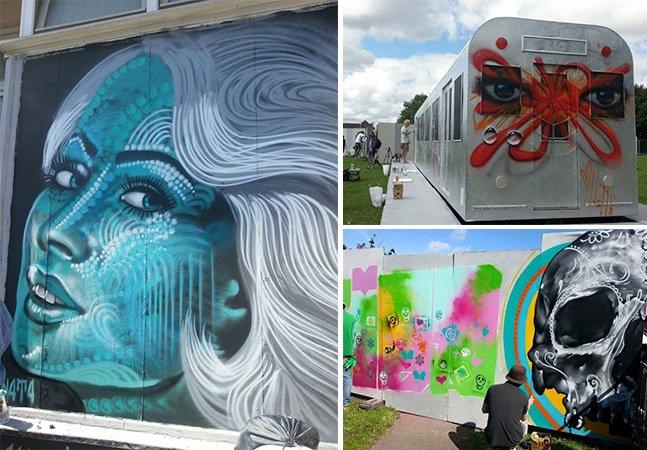 Conheça o Upfest, o maior festival europeu dedicado à arte urbana