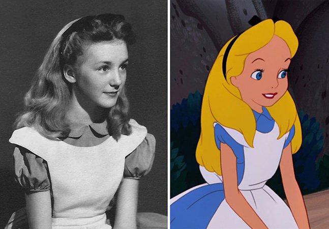 """Fotos raras mostram a menina (hoje idosa) que serviu de modelo  para """"Alice no País das Maravilhas"""""""