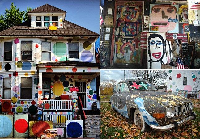 Como uma das cidades mais perigosas dos EUA está ganhando novos rumos através da arte