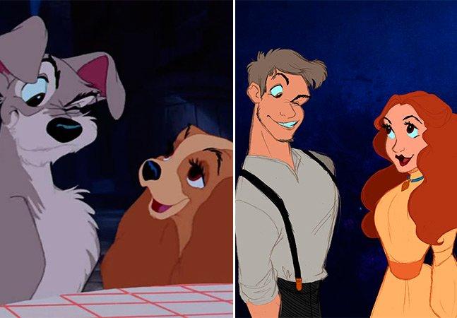 Artista imagina como seria se animais da Disney fossem interpretados por pessoas