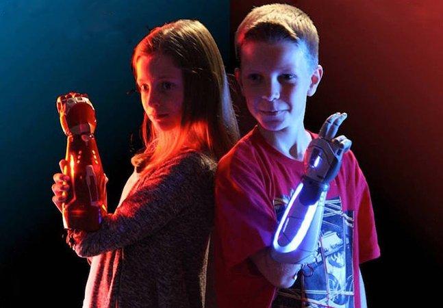 Startup se une à Disney para criar próteses infantis inspiradas em super-heróis