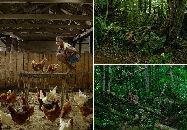 Série de fotos perturbadora retrata a vida de crianças selvagens