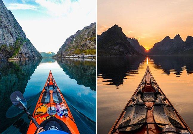 Fotógrafo retrata a beleza natural dos fiordes da Noruega em série de cliques impressionante