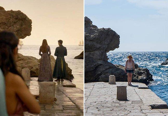 Casal viaja para a Croácia para clicar os cenários de Game of Thrones