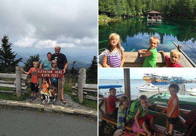 Família com 4 filhos vende sua casa e posses pra passar a vida viajando pelo mundo