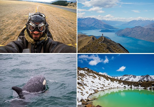 Fotógrafo faz road trip de 3 meses pela Nova Zelândia e mostra o resultado em fotos incríveis