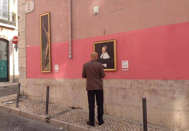 Museu de arte antiga em Lisboa inova e espalha suas obras pelas ruas da cidade