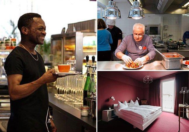 O incrível hotel de luxo que está mudando a vida de viajantes e refugiados