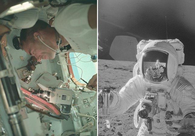NASA divulga acervo de mais de 8 mil fotos em alta definição das Missões Apollo