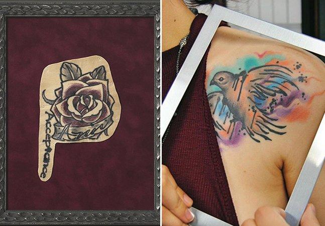 A organização que quer preservar as suas tatuagens em quadros depois  que você morrer